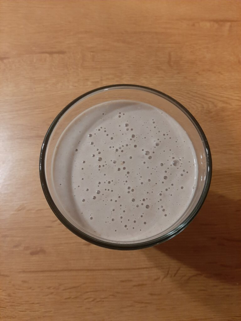 Przepis na shake z serkiem wiejskim