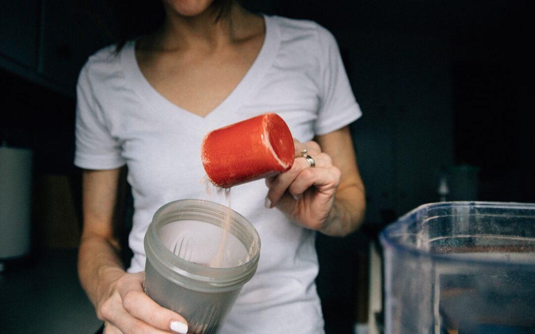 Kiedy pić białko?